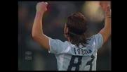 Foggia realizza il goal con il quale la Lazio chiude i conti contro l'Ascoli