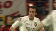 Franceschini sigla il goal della bandiera a San Siro
