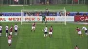 Frey intuisce ma il goal di Totti dal dischetto arriva lo stesso