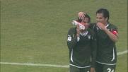 Gonzalez di testa firma il goal del vantaggio della Lazio in casa del Brescia