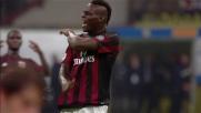 Balotelli colpisce un palo pazzesco nel derby tra Milan e Inter
