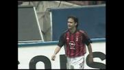 Inzaghi batte Pagliuca con un pallonetto