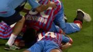 Doppietta di Bergessio nella sfida al Massimino contro il Genoa