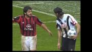 Iaquinta cade sul tocco di Gattuso, penalty per l'Udinese contro il Milan