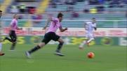 Il goal fortunoso di Hiljemark vale il raddoppio del Palermo sull'Udinese