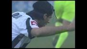Iaquinta fa tutto alla perfezione cercando il goal, ma scivola sul più bello!
