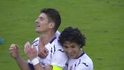 La Fiorentina con Mario Gomez triplica le marcature ai danni del Cagliari