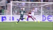 Goal strepitoso al volo di Zaza contro il Cagliari
