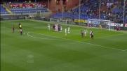 Traversa su punizione di Perotti in Genoa-Udinese
