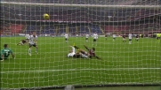 Un rimpallo regala il goal a Pato contro l'Atalanta
