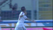 Robinho porta in vantaggio il Milan al Cibali