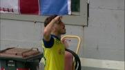 La bellissima conclusione di Paloschi da il goal del pareggio al Chievo
