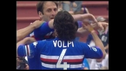 Castellini anticipa De Sanctis, Sampdoria in vantaggio