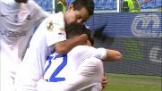Il goal di Zappacosta porta in vantaggio l'Atalanta a Genova