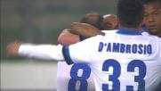 Al Bentegodi Palacio segna il goal del vantaggio sul Verona