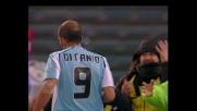 Gamberini stende Di Canio in area, la Lazio conquista un rigore