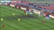 Garics evita un goal fatto contro il Bari