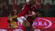 Gattuso con un tap-in di testa segna il goal del raddoppio del Milan