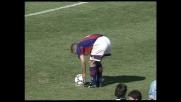 Baggio non sbaglia il rigore, goal del Bologna contro la Lazio