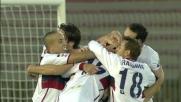 Genoa in vantaggio a Lecce con il goal di Ranocchia