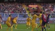 Genoa-Verona: Portanova la schiaccia in rete
