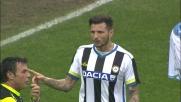 I bianconeri Badu e Thereau litigano tra di loro al Friuli