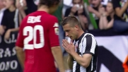 Giaccherini cerca gloria, ma Agazzi è attento e mette in corner