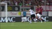 Giaccherini in contropiede realizza l'incredibile 2-0 per il Cesena sul Milan