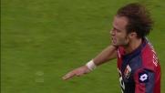 Gilardino incorna di testa la rete della vittoria contro il Parma
