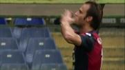 Gilardino la incorna sul primo palo per il goal dell'1 a 0 contro il Chievo