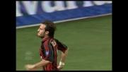 Gilardino punisce con un destro al volo il portiere dell'Empoli Balli