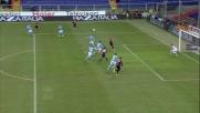 Gilardino raddoppia il vantaggio del Genoa sul Napoli con un goal di testa