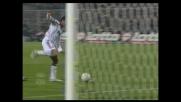 Gilardino segna il goal del pareggio contro la Fiorentina su assist di Brocchi