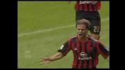 Gilardino segna il goal del vantaggio rossonero contro la Sampdoria