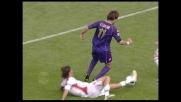 Gilardino vicinissimo al goal in Fiorentina-Cagliari
