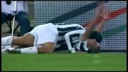 Gillet sbaglia e la Juventus trova il goal con Trezeguet