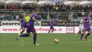 Gillet si fa sorprendere dal colpo di testa di Mutu: pareggio Fiorentina