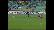 Giovanni Tedesco coglie il palo contro l'Udinese