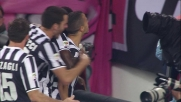 Giovinco, numero in area e goal del vantaggio Juventus contro il Milan allo Stadium
