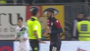 Girata di testa di Joao Pedro, il Cagliari va vicino al goal al Sassuolo