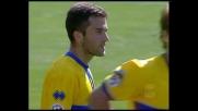 Giuseppe Rossi fa tremare la traversa della Lazio