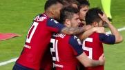 Il Cagliari spera con il goal fortunoso di Sau