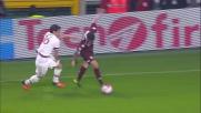 Glik calcia altissimo da ottima posizione e grazia il Milan