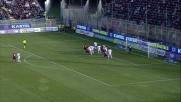 Colpo di testa angolato, Canini sfiora il goal in Cagliari-Milan