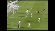 Goal all'angolino di Reginaldo e la Fiorentina va in vantaggio con l'Udinese