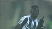 Goal all'incrocio di Fofana a Bergamo