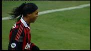 Goal capolavoro di Ronaldinho: tripudio a San Siro