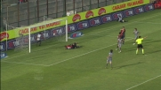 Goal da rapace d'area di Bojinov in Cagliari-Parma