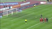 Goal del Cesena. Il marcatore è Colucci
