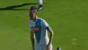 Goal del raddoppio del Napoli a Cagliari: Hamsik di rapina